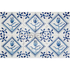 Tulip Tile In Square (BTsq)