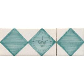 Border Tile 03 – Squares Sea Green