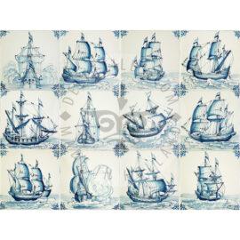 Three Masted Ship Tiles (SD)