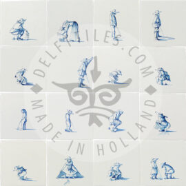 Replica's 17th Century People Tiles (PK)