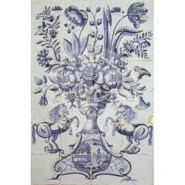 24 Tile Antique Tile Mural Anno 1800