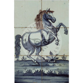 6 Tile Rare Horse Tile Panel 2