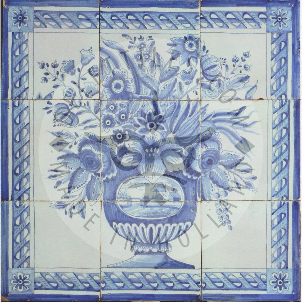 Antique Floral Panels Showcase