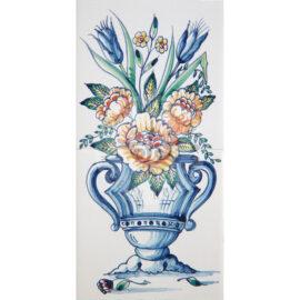 Flower Vase Mural 1×2 Tiles (BV2_mc)