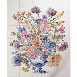 Flower Piece Color 5×6 Tiles (BV30a_mc)