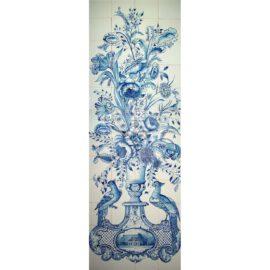 Flower Vase Panel 4×12 Tiles (BV48b)