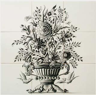 Floral Murals I Panels