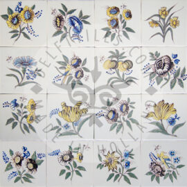 Classic Big Flower Tiles (BG4)
