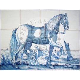 Dutch Horse 4×3 Tiles