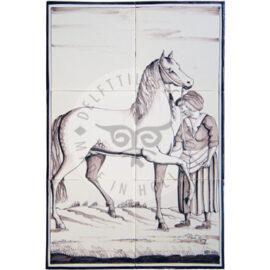 Woman & Horse 2×3 Tiles