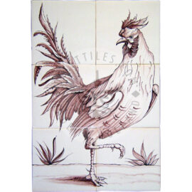 Rooster 2×3 Tiles