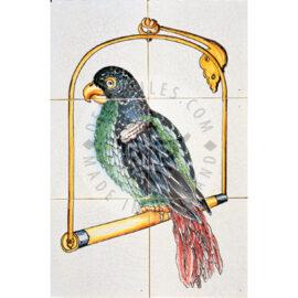 Parrot 2×3 Tiles
