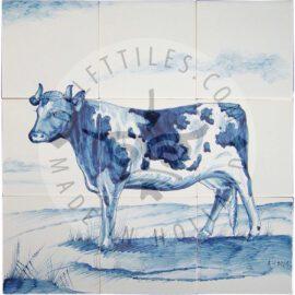 Dutch Cow 3×3 Tiles