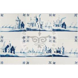 Dutch Landscape With Horizon Tile (LO)