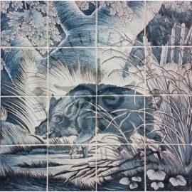 Boar I Wild Pig 4×4 Tiles