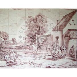 Landscape Tile Mural 9×7 Tiles (L63a_s)