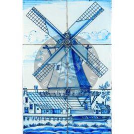 Windmill  Mural 2×3 Tiles