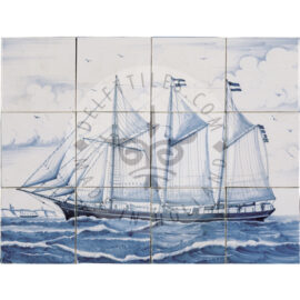Clipper Ship 4×3 Tiles