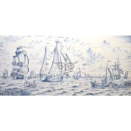 Ship & Boat Scene 11×5 Tiles