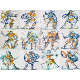 Saracen Warriors Tiles (SA)