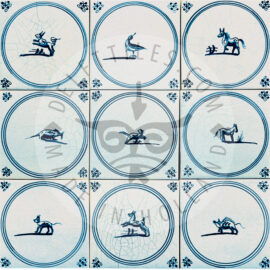 Animals In Circle Tiles (SP)