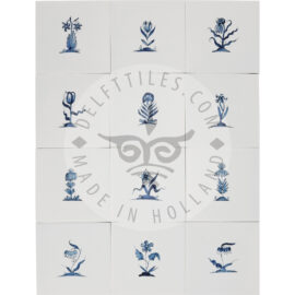 Small Flower Tiles 2 (BK2)