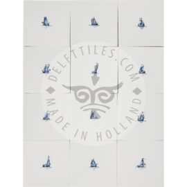 Small Boat Ship Sketches Tiles (SS)