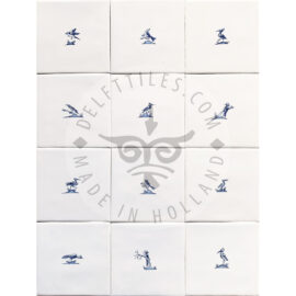 Small Bird Sketches Tiles (VS)