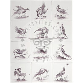 Elegant Bird Tiles (VE)
