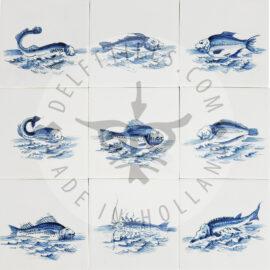 Fish On Tile (VI)