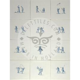 Playful Children Tiles II (KSD2)