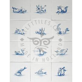 Sea Creatures – Fish Tiles (ZW2)
