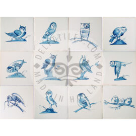 Owl Bird Tiles (VU)