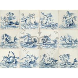 Mermaid Merman Tiles (ZW)