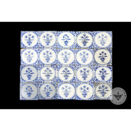 Antique Delft Tiles Set #09