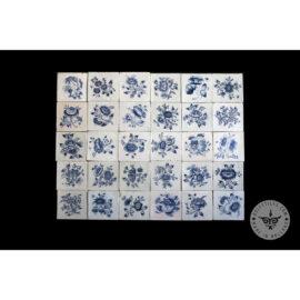 Antique Delft Tiles Set #03