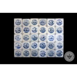 Antique Delft Tiles Set #05