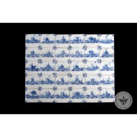 Antique Delft Tiles Set #08