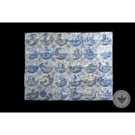 Antique Delft Tiles Set #46 – Lanscape Biblical Tiles