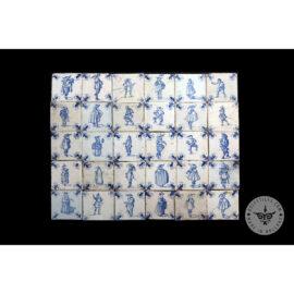 Antique Delft Tiles Set #50 – Noblemen Tiles