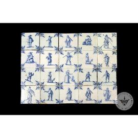 Antique Delft Tiles Set #53 – People Craft Tiles