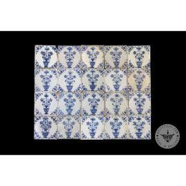 Antique Delft Tiles Set #55 – Flowerpot Tiles