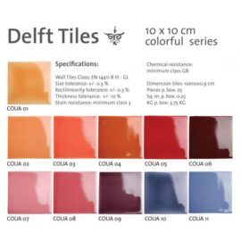 Colorful Glazes # 1-11