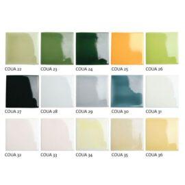 Colorful Glazes # 22-36