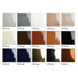Colorful Glazes # 37-51