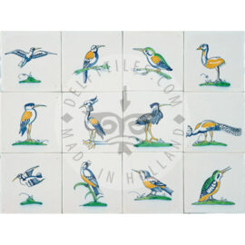 Decorative Bird Tiles (VC)