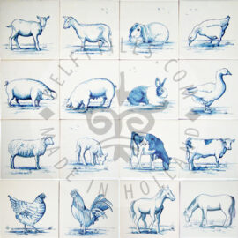 Farm Animals Tiles (HDB)