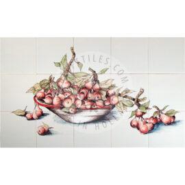 Stew Pears Panel 5×3 Tiles (HF15a)