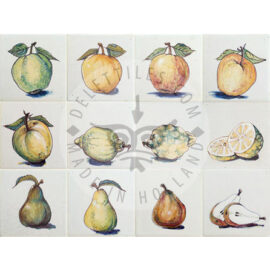 Various Fruits On Tile (HF_mc)