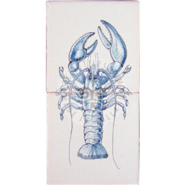 Lobster Tile Panel 1×2 Tiles (HV2g)